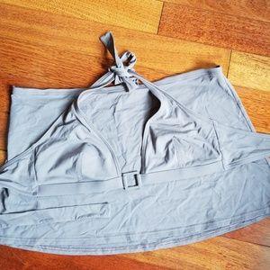 Calvin klein Swimwear Bikini Top w/ skirt coverup